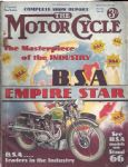 MOTOR CYCLE - MOTORCYCLE MAGAZINE - 5TH DECEMBER 1935 - M2181